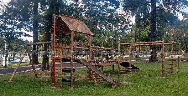 Playground Aldeota Completo - Clube de Campo Sorocaba