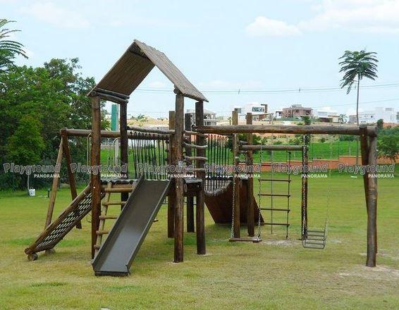 Playground ecológico completo modelo Aldeota  | Alphaville Nova Esplanada 2