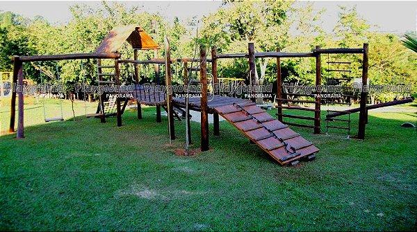 Playground ecológico completo modelo Aldeota  | Condomínio Villazul