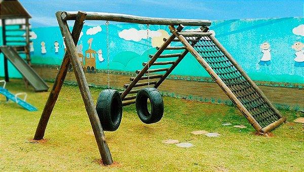 Playground ecológico modelo Ranger |  Associação Bethel Casas Lares