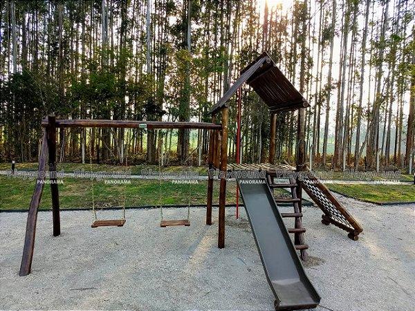 Casinha do Tarzan em eucalipto tratado  | Condomínio Recanto das Seriemas