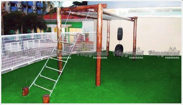 """Playground em madeira tratada """"Macaco"""""""