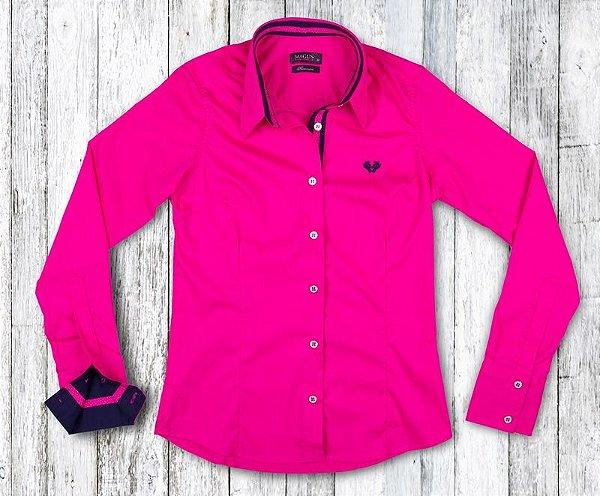 Camisa Feminina My Cris Pink