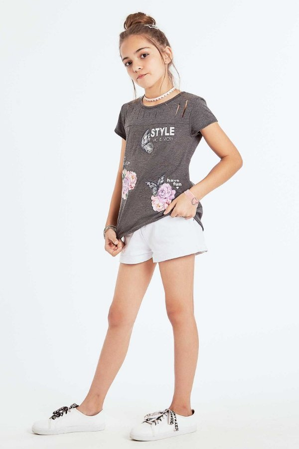 BLUSA COM APLIQUE PATCHES VIC&VICKY