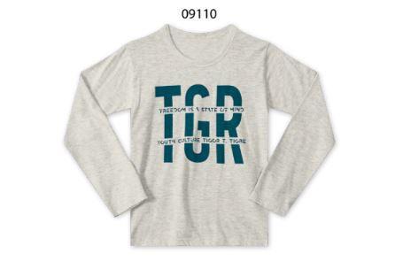 CAMISETA M/L TIGOR T.TIGRE