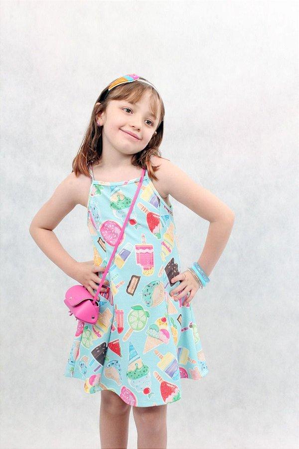 Vestido com bolsa Mon Sucré