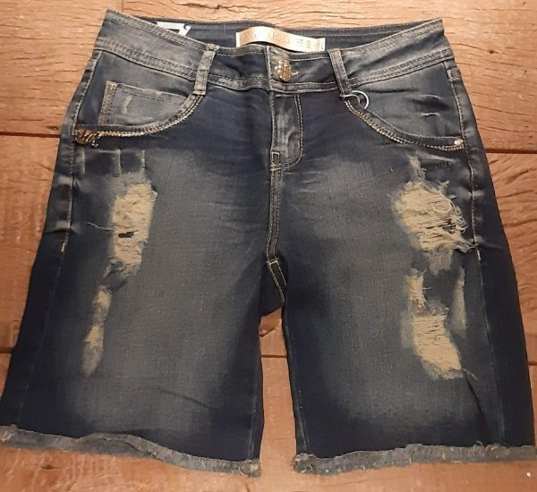 Bermuda jeans Morena Rosa