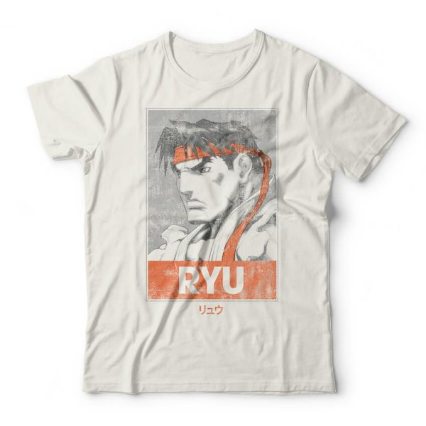 Camiseta Ryu Poster