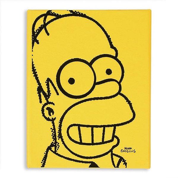 Caderno de Notas Simpsons Homer Face