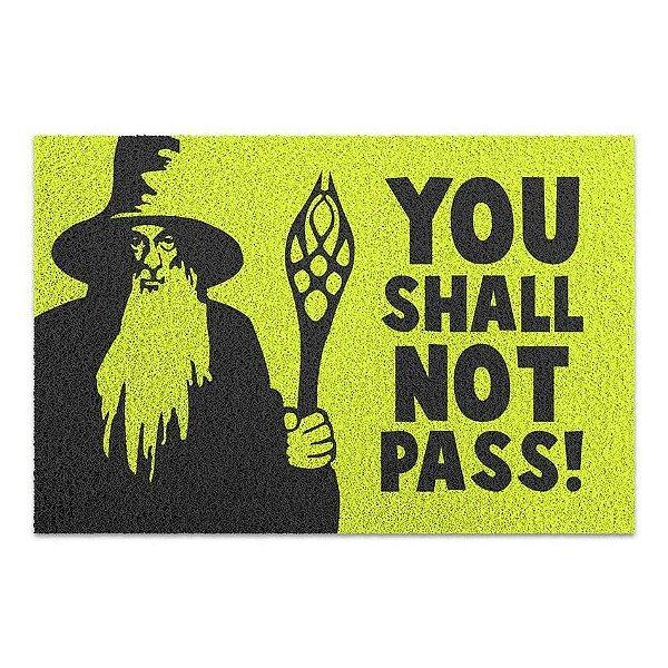 Capacho Vinil You Shall Not Pass