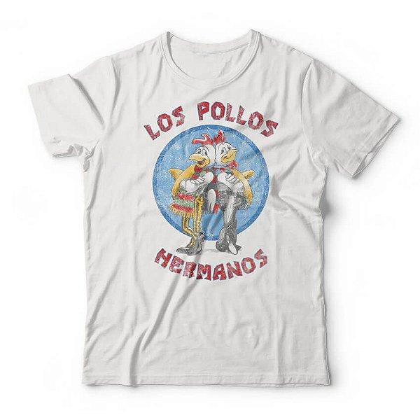 Camiseta Breaking Bad Los Pollos Hermanos Branca