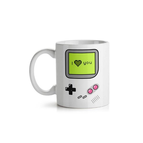 Caneca Game Boy I Love You