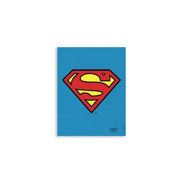 Placa Logo Superman