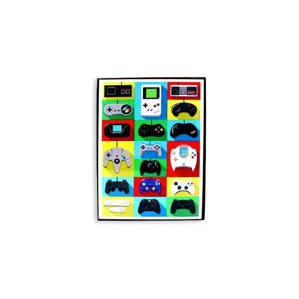 Placa Joysticks