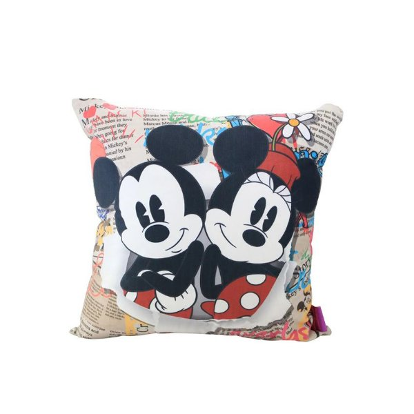 Almofada Mickey e Minnie Jornal