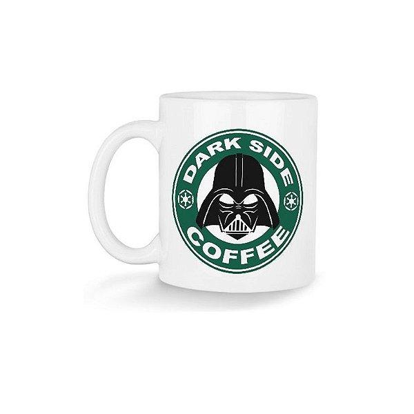 Caneca Dark Side Coffee