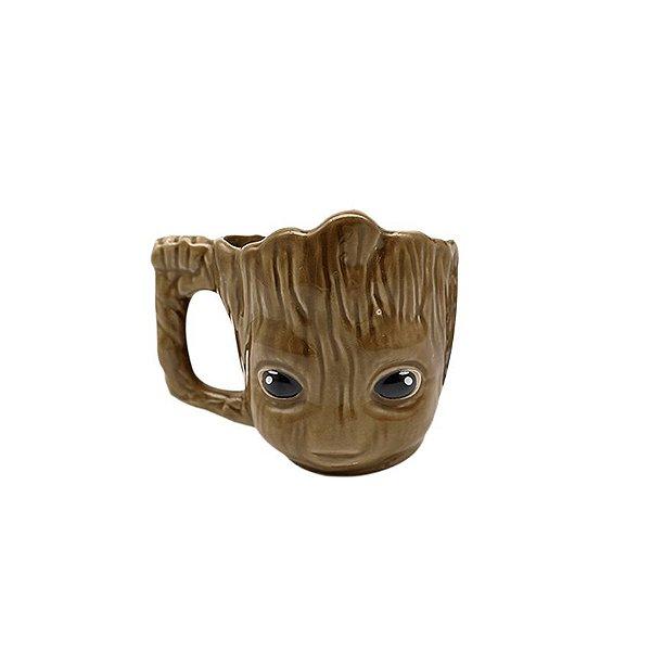 Caneca 3D Marvel Groot