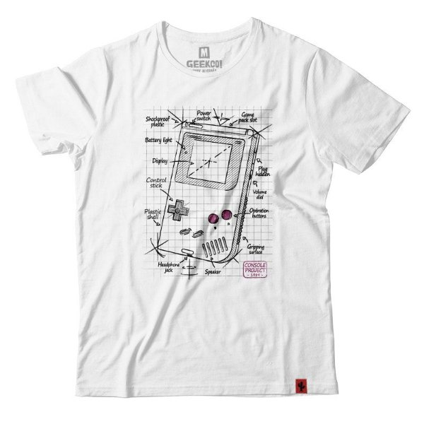 Camiseta Game Boy Project