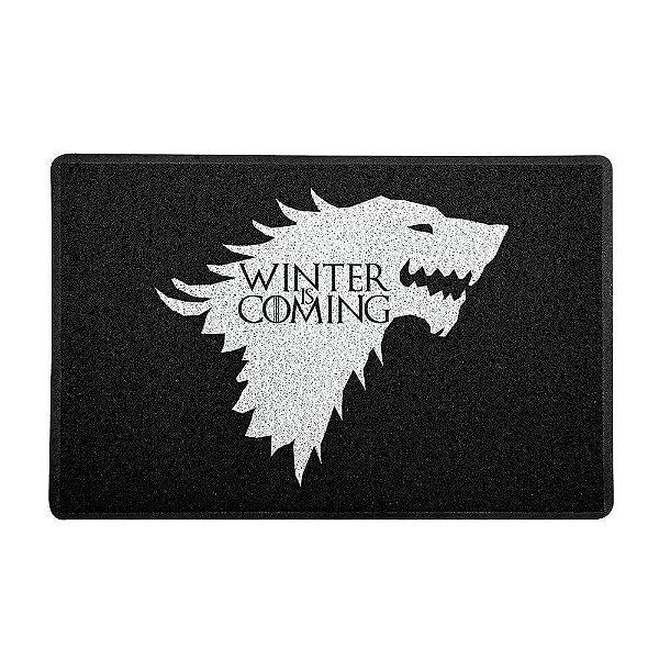 Capacho Vinil Stark Winter Is Coming