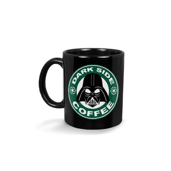Caneca Come To The Dark Side Coffee