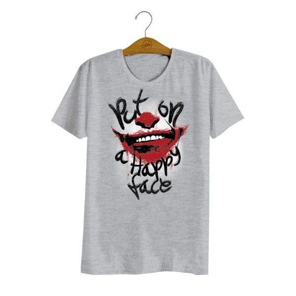 Camiseta Joker Happy Face