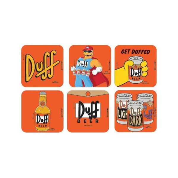 Porta Copos Simpsons Duff Beer