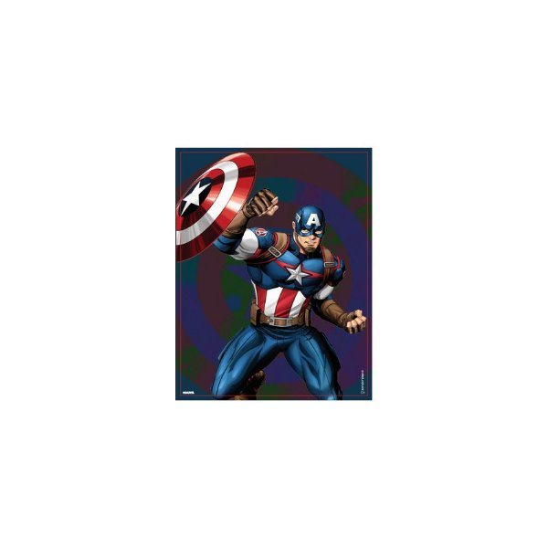 Placa Capitão América
