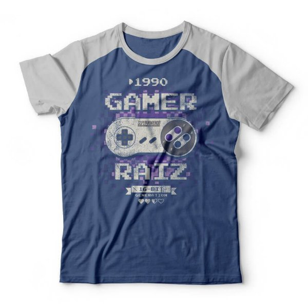 Camiseta Gamer Raiz