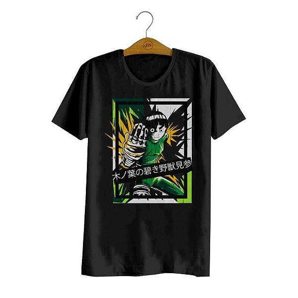 Pré-Venda - Camiseta Naruto Rock Lee