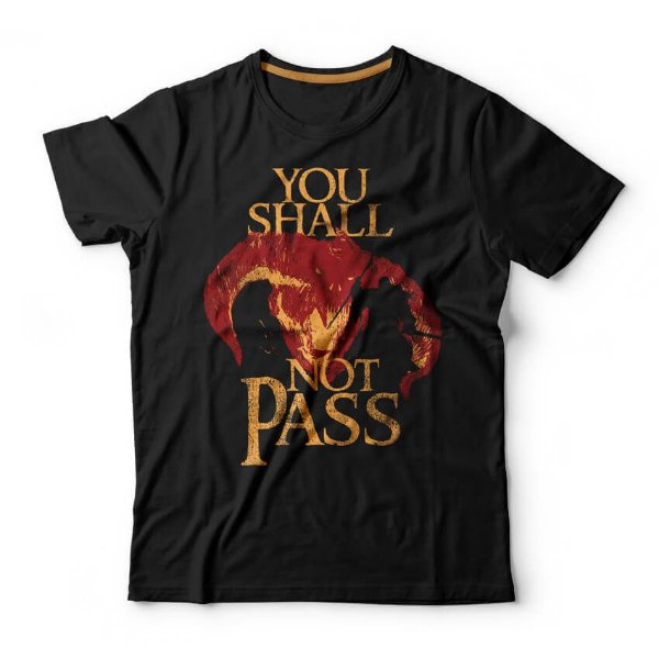 Camiseta Gandalf You Shall Not Pass