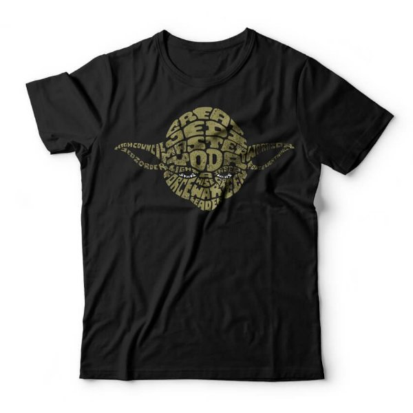 Camiseta Yoda Words