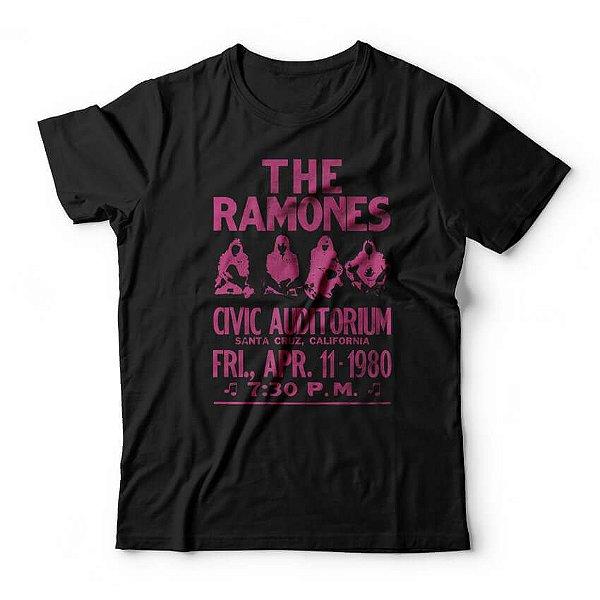 Camiseta Ramones Civic Auditorium