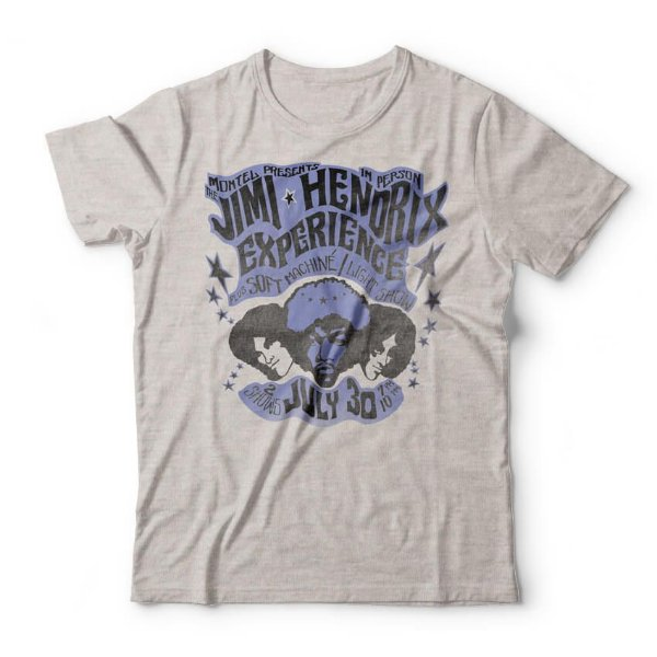 Camiseta Jimi Hendrix Experience