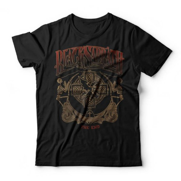 Camiseta Black Sabbath The End