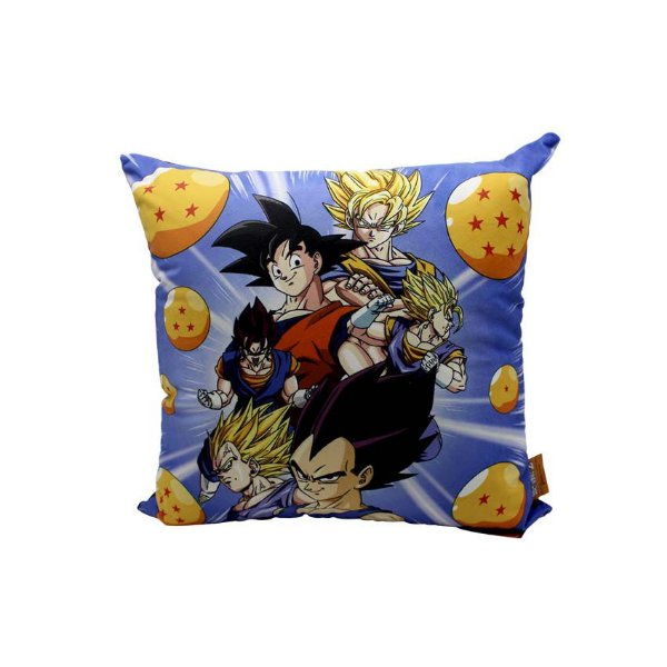 Almofada Dragon Ball Saiyajins Esferas
