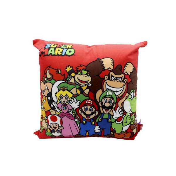 Almofada Super Mario Turma