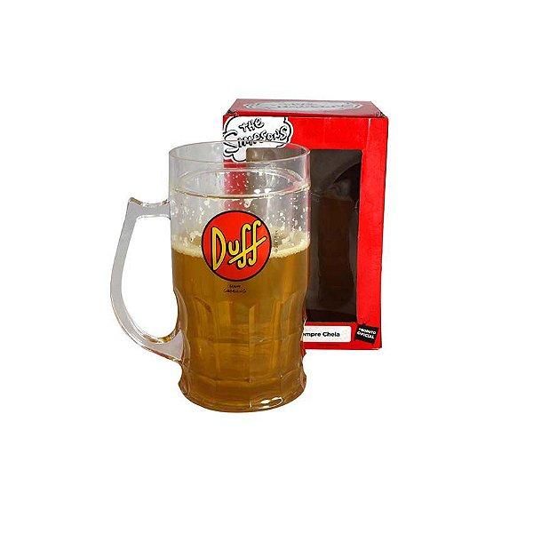 Caneca Sempre Cheia Duff Beer