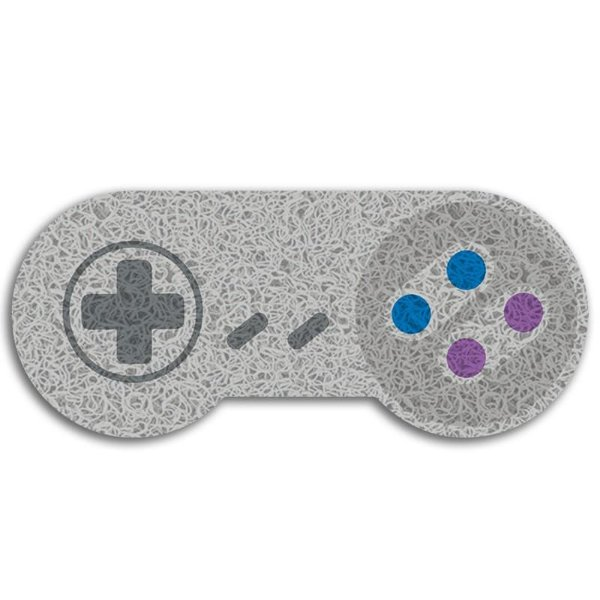 Capacho Vinil Joystick Super Nintendo