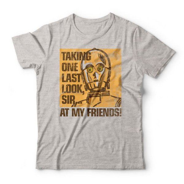 Camiseta C3PO At My Friends