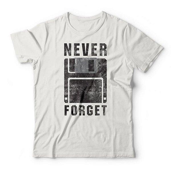 Camiseta Never Forget Branco