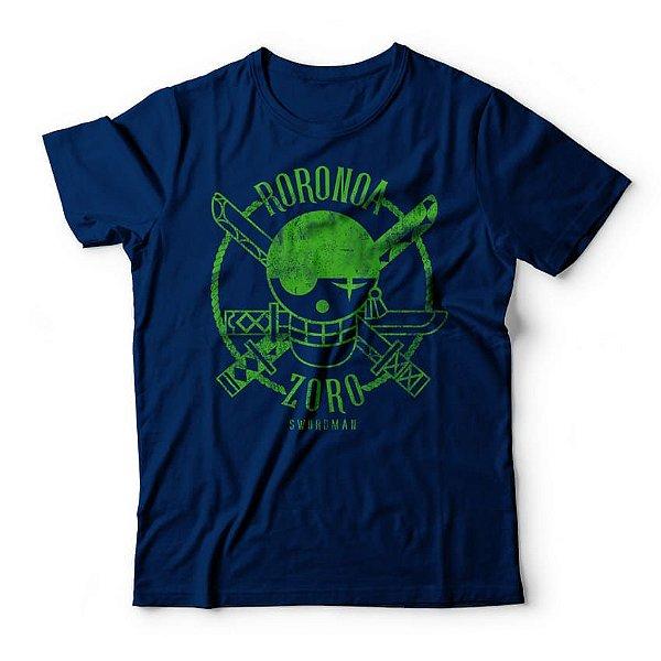 Camiseta One Piece Roronoa Zoro Azul