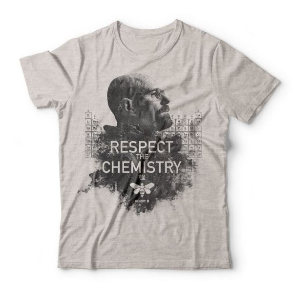 Camiseta Respect The Chemistry