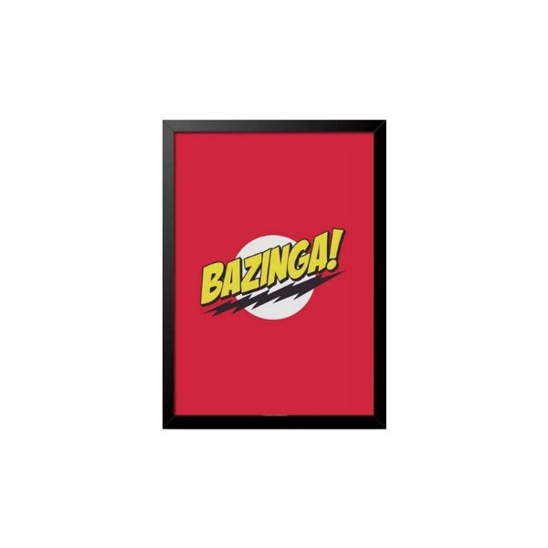 Quadro The Big Bang Theory Bazinga