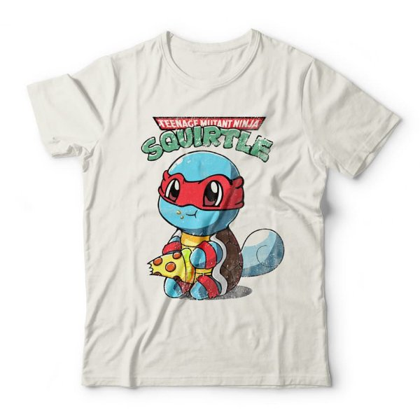 Camiseta Squirtle Ninja