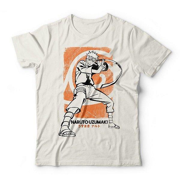 Camiseta Naruto Uzumaki
