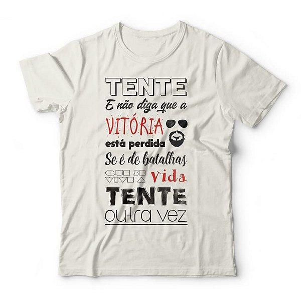 Camiseta Raul Seixas Tente Outra Vez