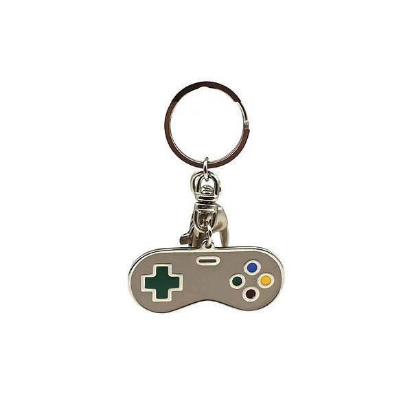 Chaveiro de Metal Joystick Nintendo