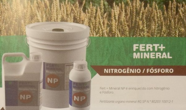 Rosa do Deserto - Fertilizante Fert + Mineral Nitrogênio / Fósforo (NP) - 100 ml - Concentrado