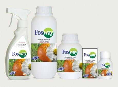 Fertilizante Fosway 500 ml - Pronto Uso - Resistência para suas Rosas