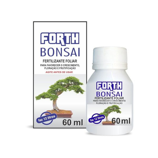 Rosa do Deserto - Fertilizante Forth Bonsai 60 ml - Concentrado